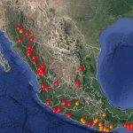 Informa Semarnat situación de incendios forestales en el país